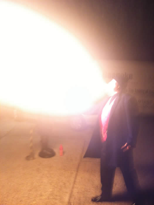 The Town Crier that also breathes fire was out on Halloween night with Props and Frocks in Battlesbridge, essex