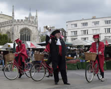 Town Cryer in Cambridge
